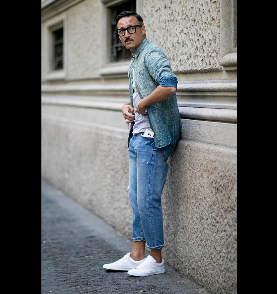 845ab93213885 ما هي أحدث أساليب الموضة الرجالي في ميلانو 2017؟