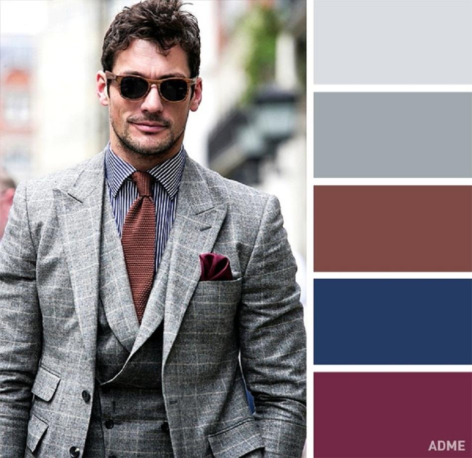 0ef031cf0aa01 2 – لكي تتميز بإطلالة كلاسيكية رائعة رغم إرتدائك لملابس تتميز بكونها كاجول  إلى حد كبير، عليك الإتجاه نحو اللونين البني والأزرق القاتم .