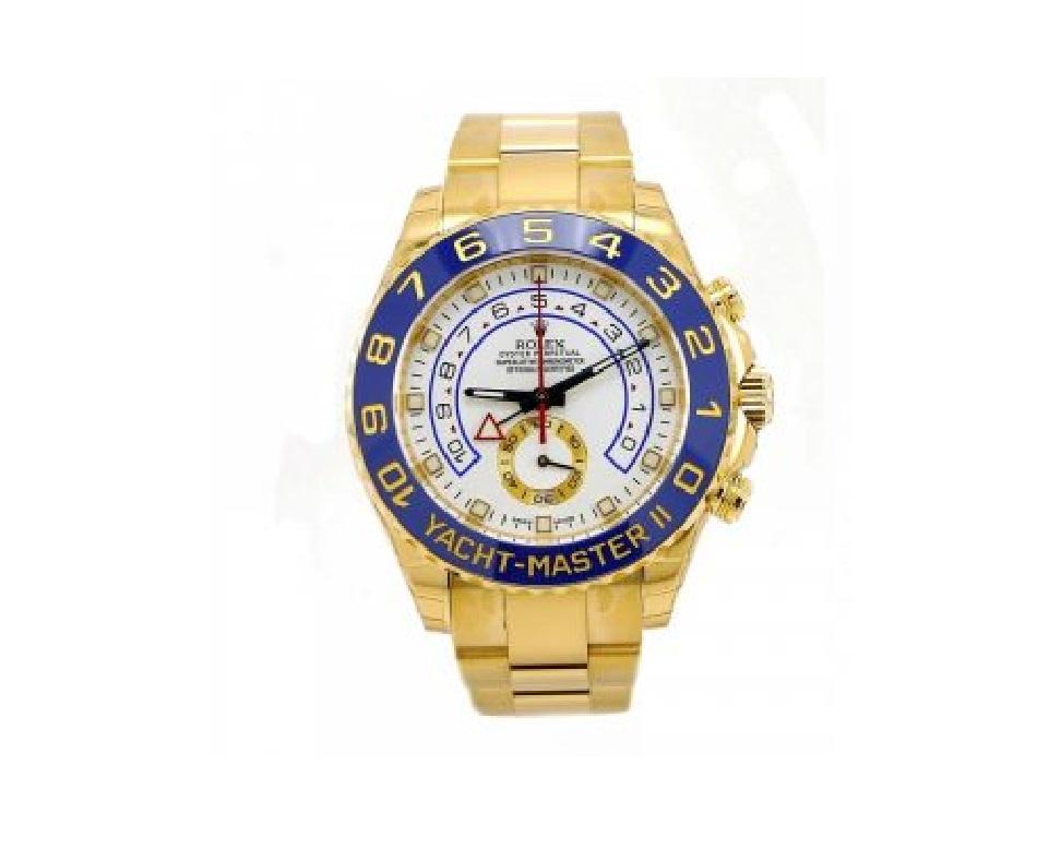 4d2299b7cca14 إن ساعة Rolex Yacht-Master II تعد ضمن قائمة الساعات الأغنى على الإطلاق حيث  وصل سعرها إلى 30 ألف دولار، إن غلاف الساعة مصنوع من الفولاذ المقاوم للصدأ  44 ...