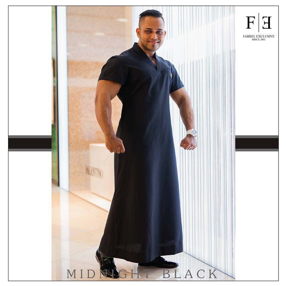 e4017aba7cfba أحدث تصاميم ثوب رجالي لعام 2018