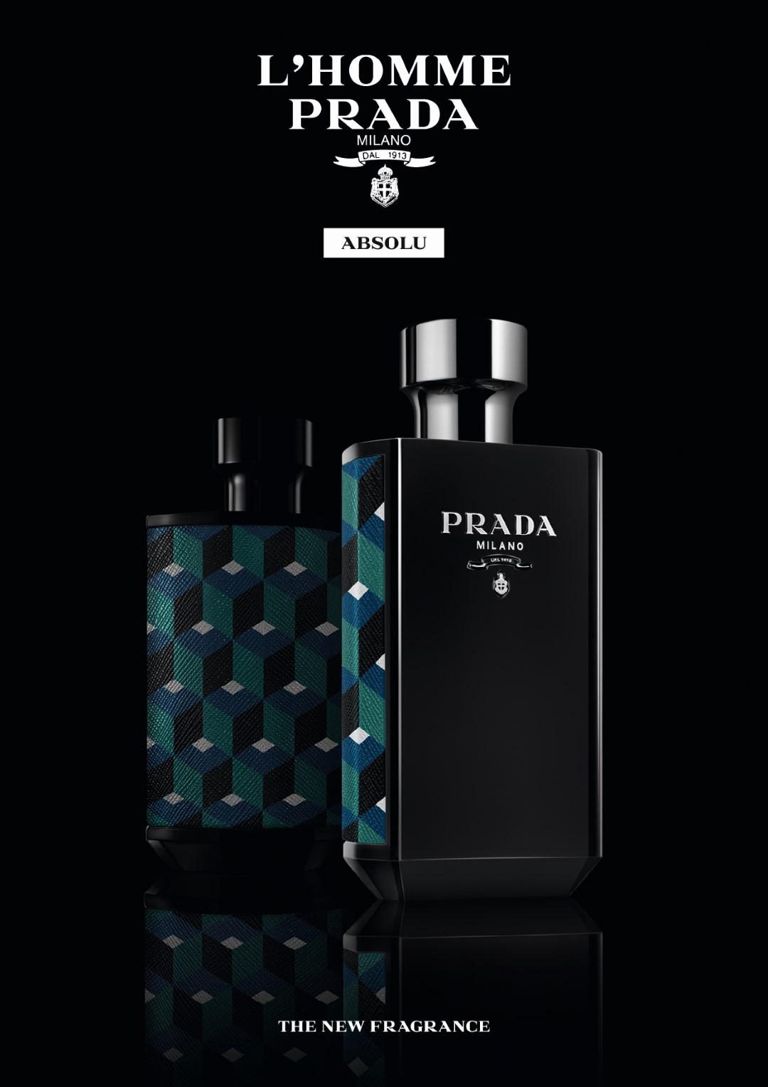 d04b423e7 إطلاق عطري «L'Homme Prada Absolu» و «La Femme Prada Absolu»   مجلة الرجل