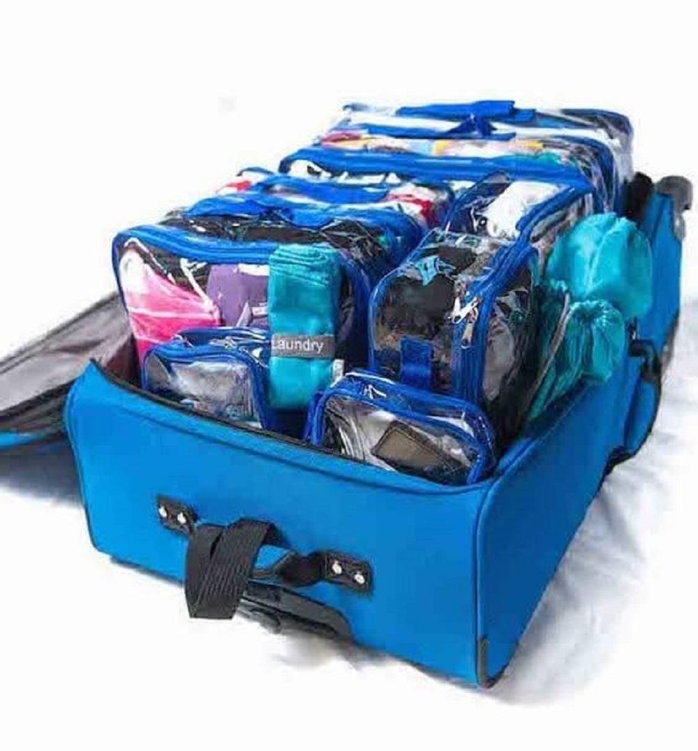 45dab381c9009 الاستغلال الأمثل للمساحات.. طرق مبتكرة لترتيب حقيبة السفر