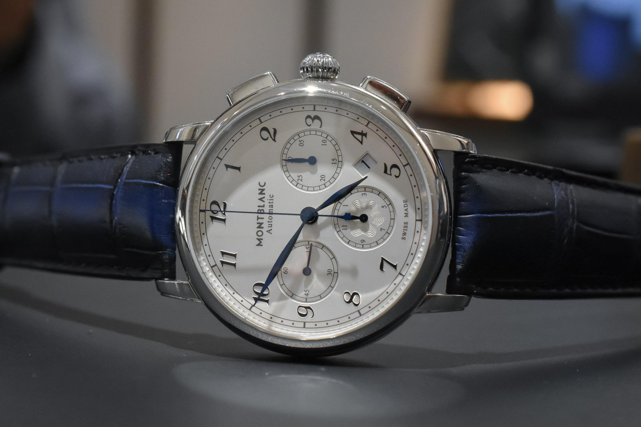 9d7400600 مستوحاةٌ من تراث مينرفا.. مواصفات ساعات Mont Blanc الفاخرة   مجلة الرجل