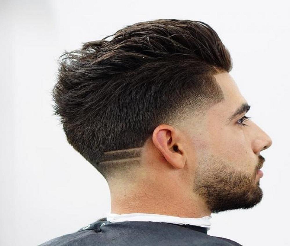قصات شعر من الخلف للرجال