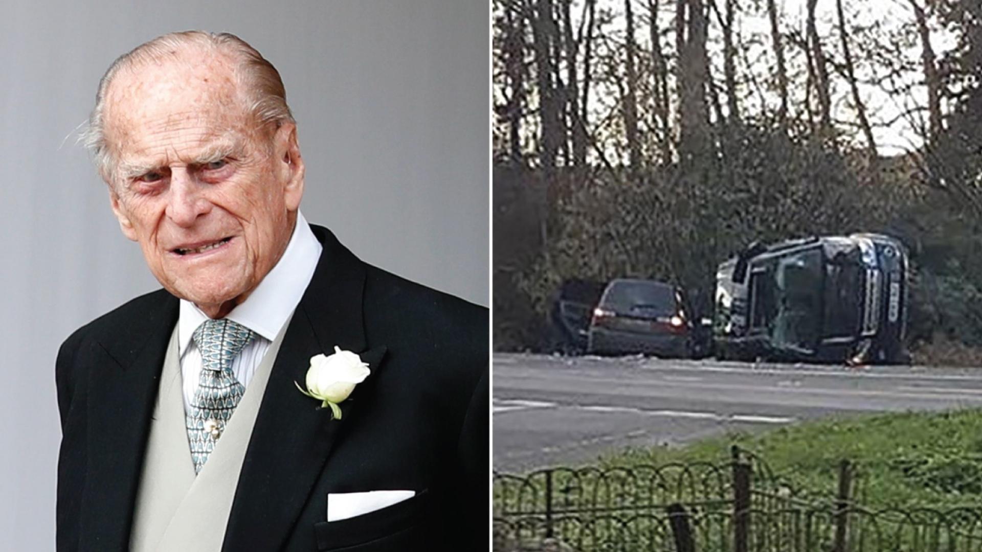 بعد الحادث بأيام.. بيع حطام سيارة الأمير فيليب على موقع ...
