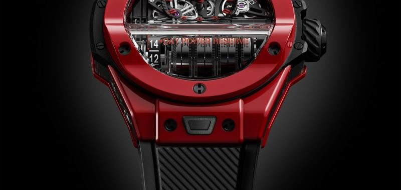 """بيغ بانغ إم بي 11 رد ماجيك"" Big Bang 11-MP Red Magic من ""هوبلو"" Hublot"