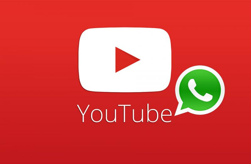 YouTube playing inside the Telegram messaging app