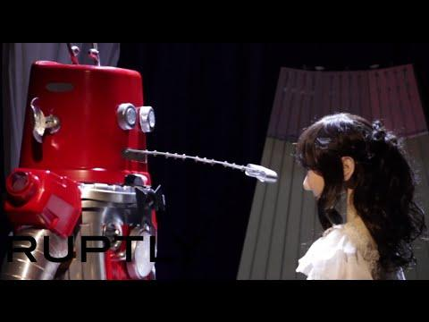 First ever robot wedding in Japan