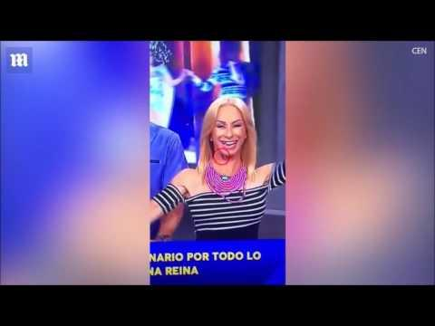 TV presenter's TOOTH falls out in the middle of a show