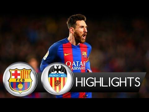 Barcelona vs Valencia 4-2 All Goals & Highlights 2017 HD