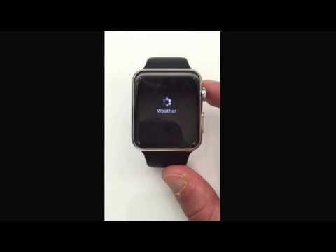 World First Apple Watch Boot/Startup !