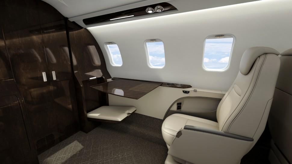 بومبارديير ليرجيت 75 ليبيرتي مستقبل الطيران الخاص