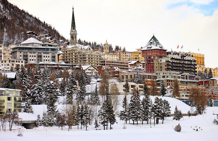 السياحة في سويسرا: سانت موريتز