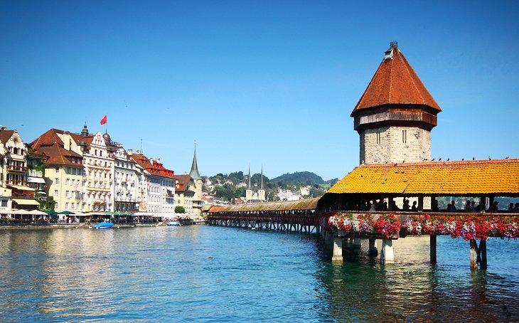 السياحة في سويسرا: لوسيرن